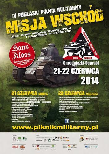 """Wiadomości, Podlaski Piknik Militarny """"MISJA WSCHÓD"""" - zdjęcie, fotografia"""