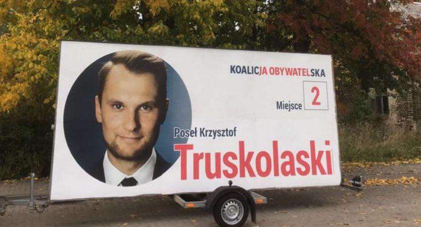 Polityka, Krzysztof Truskolaski pokonał Białymstoku Tyszkiewicza - zdjęcie, fotografia