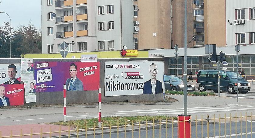 Polityka, Białostockie schronisko potrzebuje powyborczych banerów - zdjęcie, fotografia