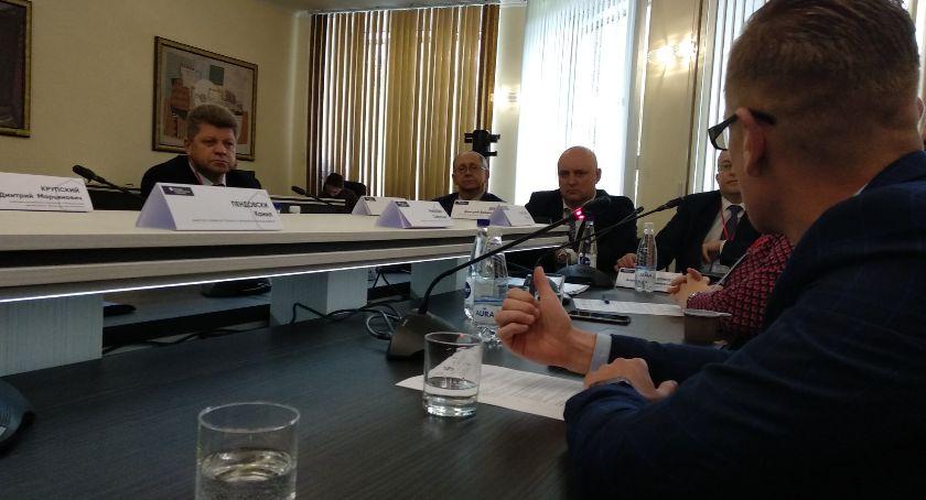 Gospodarka, Białorusini chcą korzystać podlaskich doświadczeń - zdjęcie, fotografia