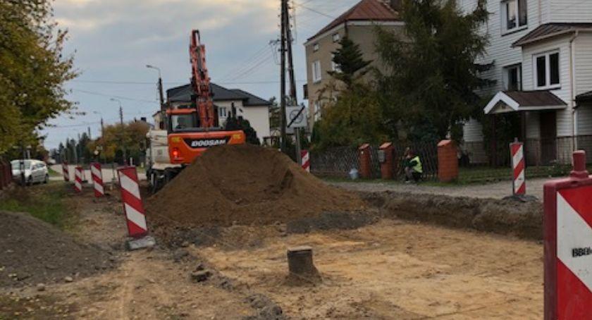 Wiadomości, Drogowcy Łapach rozpoczęli przebudowę dróg jednym osiedli - zdjęcie, fotografia