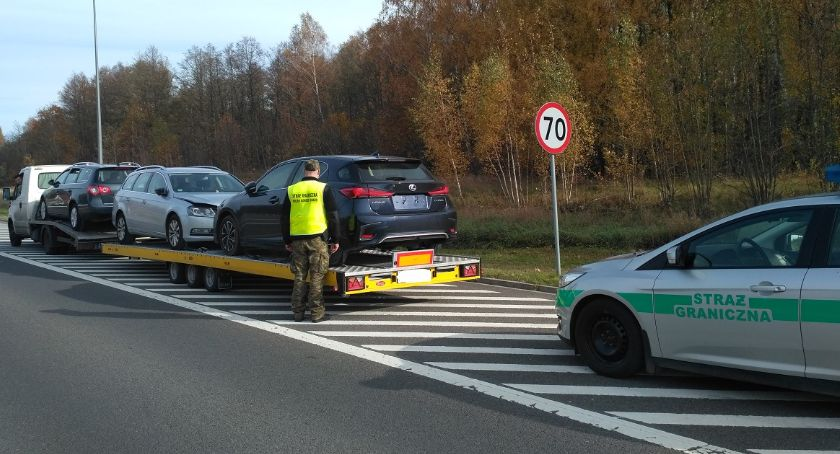 Wiadomości, Pogranicznicy weekend odnaleźli skradzione samochody warte łącznie złotych - zdjęcie, fotografia