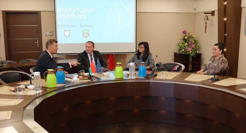 Gospodarka, Michałowo Świsłocz chcą wspólnie sięgnąć unijne pieniądze - zdjęcie, fotografia