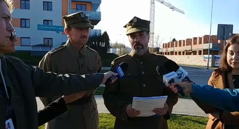 Wiadomości, Jedyna zmiana dopuszczalna ulicy Łupaszki zmiana stopnia wojskowego - zdjęcie, fotografia