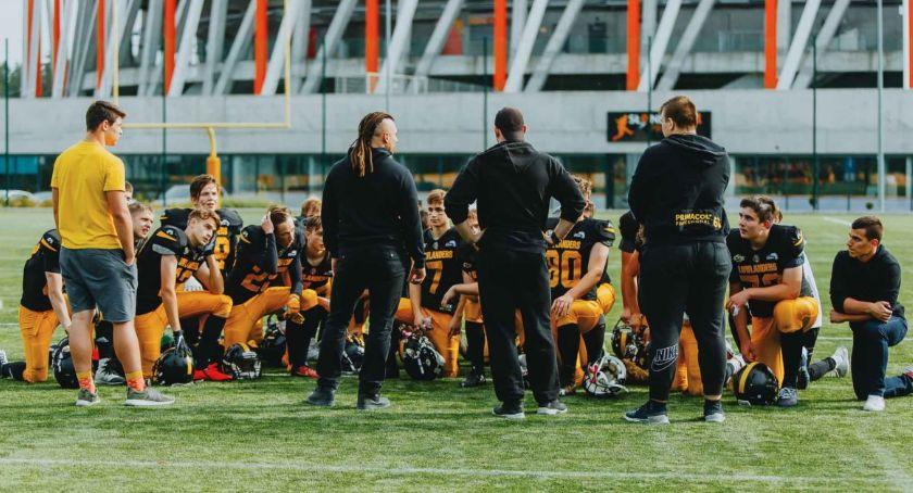 Sport, Juniorzy Lowlandersów niepokonani Olsztynem - zdjęcie, fotografia