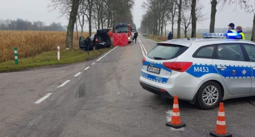 KOLIZJA 24, Tragiczny skutkach wypadek Nowoberezowem Zginęła jedna osoba - zdjęcie, fotografia