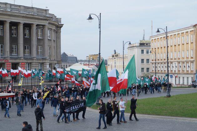 Wiadomości, Nacjonaliści ostatnio wyjątkowo aktywni Będzie kolejny marsz - zdjęcie, fotografia