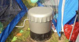 Idealna lodówka do ogrodu i pod namiot