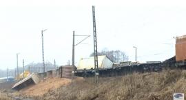 Pod Sokółką wykoleił się pociąg