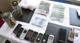 Policjanci CBŚP przejęli blisko 8,5 kg narkotyków
