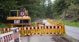 Uwaga! Na blisko rok zamknięto odcinek drogi wojewódzkiej
