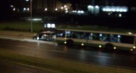 Kierowca autobusu zabrał kluczyki pijanemu kierowcy