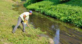 Oczyszczanie rzeki Białej