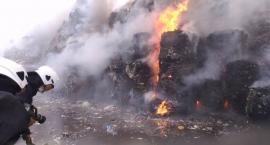 Sortownia odpadów w Studziankach znów stanęła w płomieniach