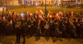 Ulicami Białegostoku przeszedł Marsz Niepodległości