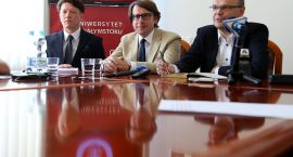 Nowe władze Uniwersytetu w Białymstoku i nowe plany na rozpoczęcie roku akademickiego