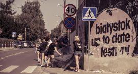 Wolontariat na Up To Date Festival. Powstał nowy mural w Białymstoku