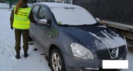 Nissan z przestępstwa nie przejechał polskiej granicy