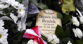 Ostatnie pożegnanie Zbigniewa Brożka