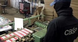 Szybki nalot na nielegalną fabrykę papierosów