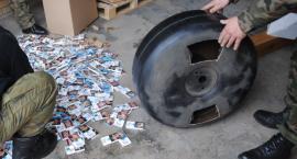 Tytoniowa kontrabanda przechwycona w Żytkiejmach, Kuźnicy i w Sejnach