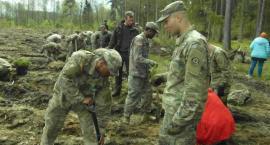 NATO w służbie zieleni. Żołnierze sadzą drzewka w naszym regionie