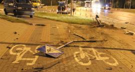 Pościg za pijanym kierowcą ulicami Suwałk