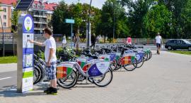 Pogoda służy rowerzystom