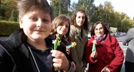 Szkolni wolontariusze w akcji Pola nadziei