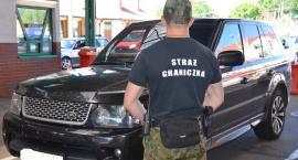 Range Rover zatrzymany na granicy. Okazało się, że był kradziony