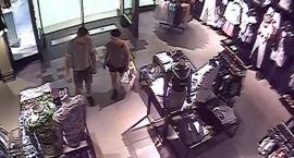 Policjanci poszukują złodziei, którzy kradli w galerii handlowej