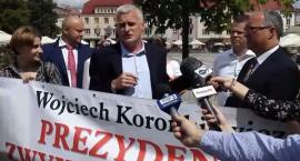 Prezydent zwykłych spraw. Wojciech Koronkiewicz z poparciem SLD