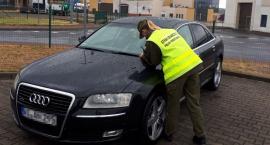 Kradzione Audi nie wyjechało z Polski