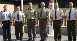 Podlascy terytorialsi dzieli się doświadczeniami z mundurowymi z Litwy