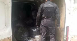 Podlascy celnicy przejęli ponad 1,5 tony nielegalnego tytoniu