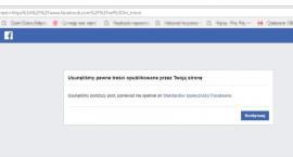 Kolejny ban na Facebooku! Tym razem nie podobał się protest rolników