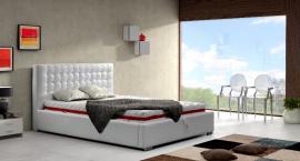 Sypialnia w nowoczesnym stylu jest funkcjonalna