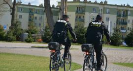 Rowerowy patrol wytropił substancje narkotyczne