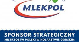 Kolarstwo górskie sponsorowane przez Mlekpol