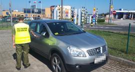 Skradziony Nissan Qashqai zatrzymany na granicy w Kuźnicy