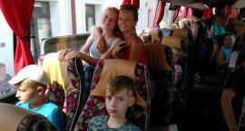 Na wakacje pojechało 45 dzieci, podopiecznych Caritas