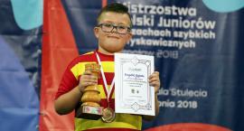 Krzysztof Wojtacha wrócił z dwoma medalami z mistrzostw szachowych