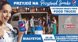 Przystanek Smaku Pepsi w weekend stacjonować będzie w Białymstoku