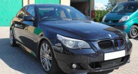 Pogranicznicy z Sejn odzyskali skradzione BMW