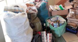 Łomżyńscy celnicy trafili na kontrabandę papierosową