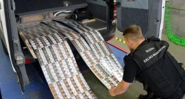 Ponad 2 tysiące paczek nielegalnych papierosów przechwycono w Kuźnicy