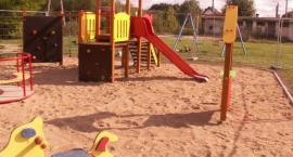 W Sobolewie pojawił się nowy plac zabaw i siłownia pod chmurką