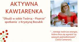 Aktywna Kawiarenka z autorką, która zachęca do pisania