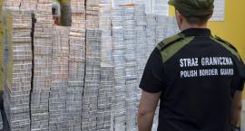 Pogranicznicy przechwycili nielegalne papierosy warte prawie 300 tys. złotych