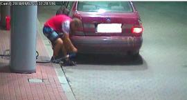 Kradł paliwo. Zarejestrowały go kamery na stacji paliw